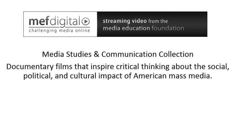 MEF Media Studies & Communication Collection
